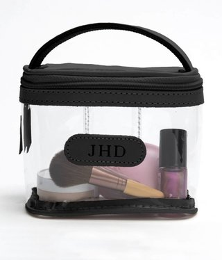 Jon Hart Makeup Case, Clear Mini