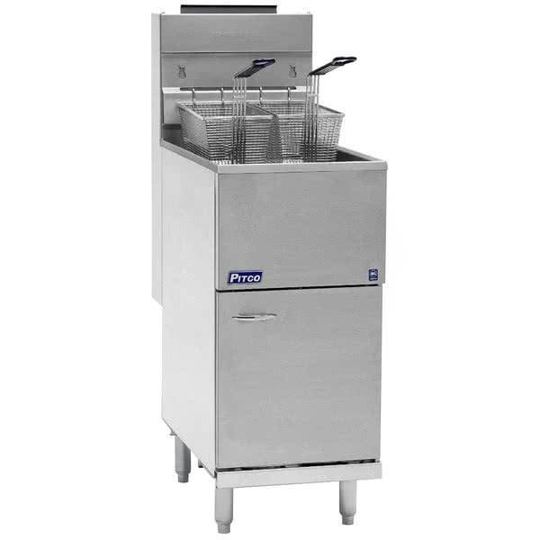 Pitco Pitco 40D 40-45 lb. Natural Gas Fryer