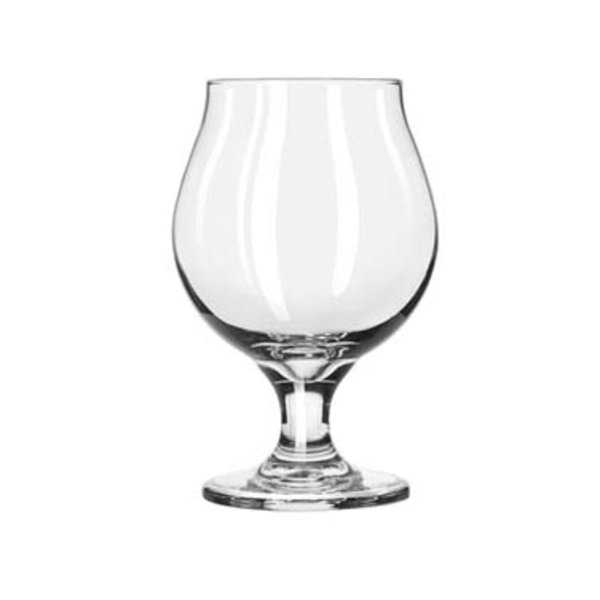 Libbey Libbey 3808 Belgian Beer Glass Safe Edge 16 oz. - 1 Dozen