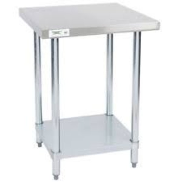 """Atosa MixRite , 24"""" x 24"""" Work Table, Stainless Steel Top  MRTW-2424"""