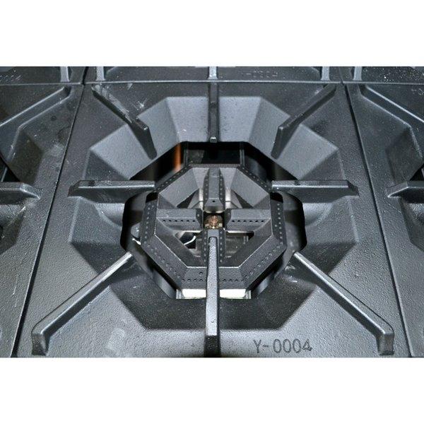 """Atosa CookRite 36"""" 6 Burner Range Natural Gas ATO-6B-NG"""