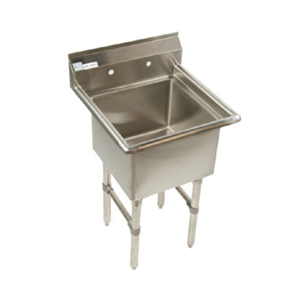 Klinger's Trading Klingers Trading  ECS1-2424 One Compartment Sink 29''w x 29-1/2