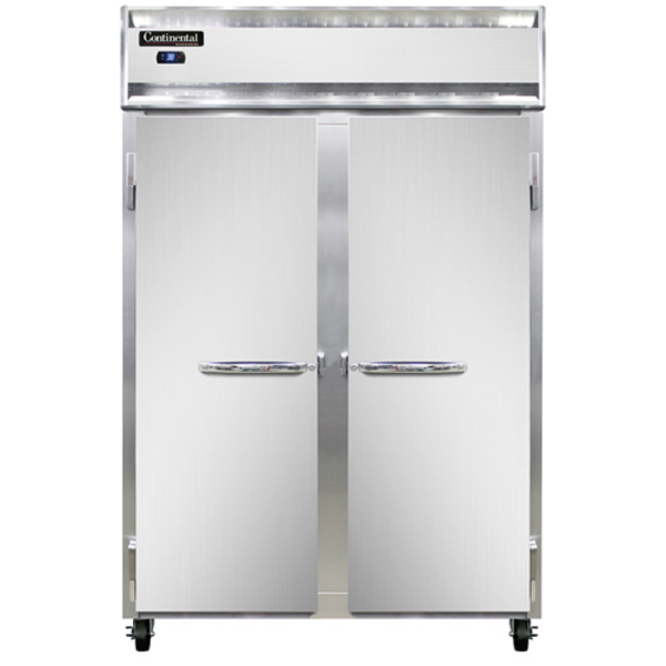 Continental Refrigerator Continenal Refrigeration 2R Reach-In Two Section Refrigerator