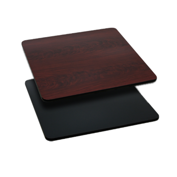 """Flash Furniture XU-MBT-3030-GG Square Table Top With Reversible, 30"""""""