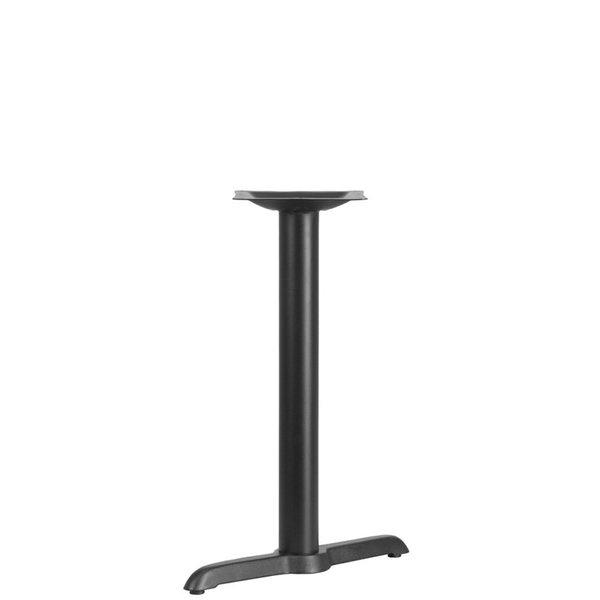"Flash Furniture Flash Furniture 5"" X 22"" TABLE T-BASE WITH 3"" DIA"