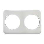 Winco Winco ADP-808 Adapter Plate Two Holes 7 qt. Insets