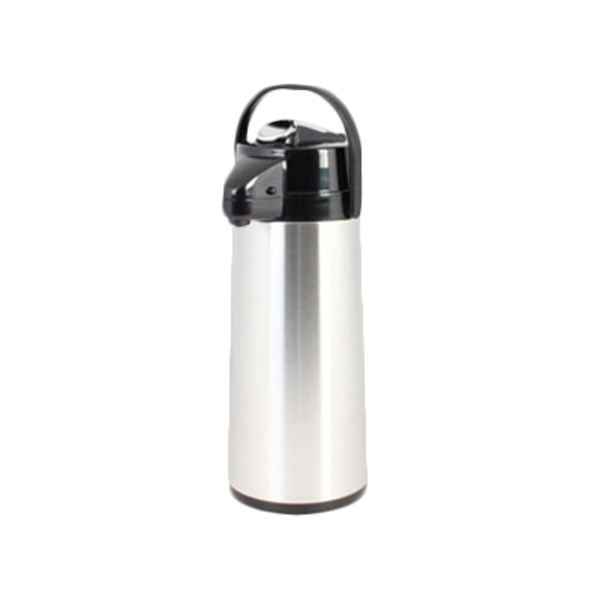 Thunder Group Thunder Group ASLS030 Lined Airpot, Lever Top, Stainless Steel, 3.0 Liter
