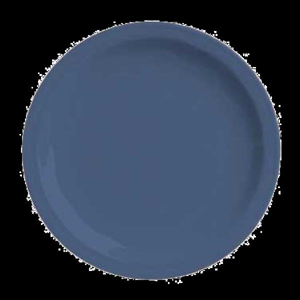 "Syracuse China Syracuse China 903032010 Cantina 9"" Blueberry Carved Round Porcelain Plate"