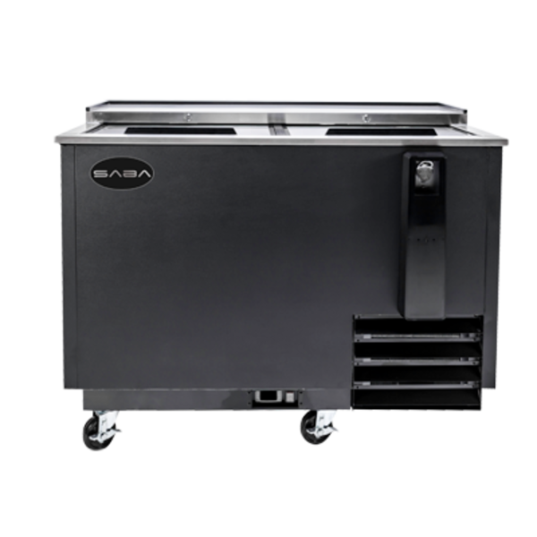 """Saba Air BOTTLE COOLER TWO-SECTION 49 1/2"""""""