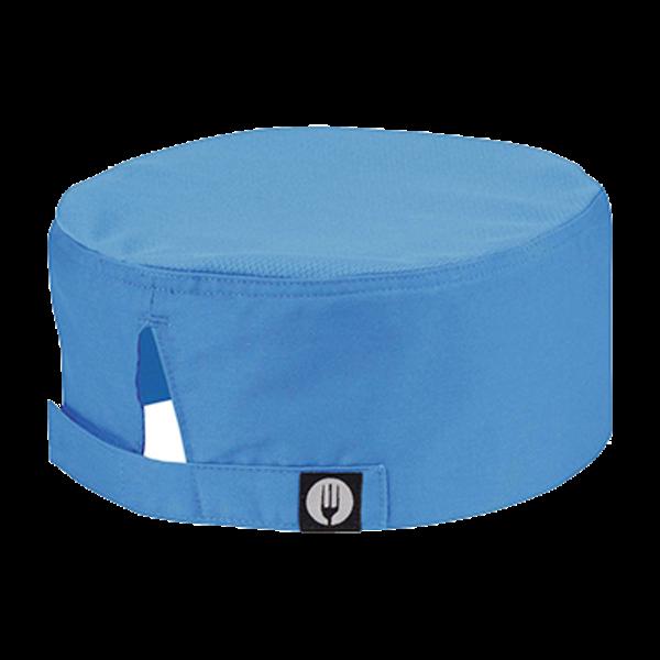 Chef Works Chef Works DFCV-BLU-0 Beanie Cool Vent, Chef's Hat, Blue