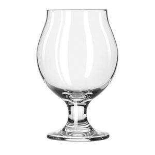Libbey Libbey 3807 Belgian Beer Glass Safe Edge 13 oz. - 1 Dozen