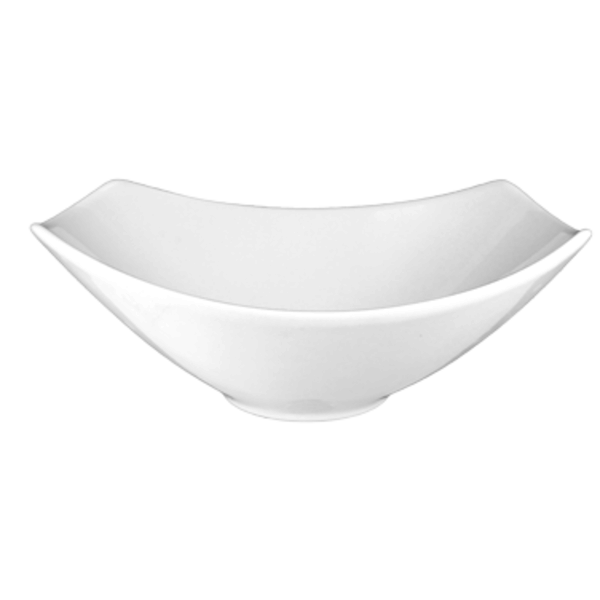 I.T.I International Tableware International Tableware QP-40 Quad Bowl, White,  42 oz., Rectangular - 1 Dozen