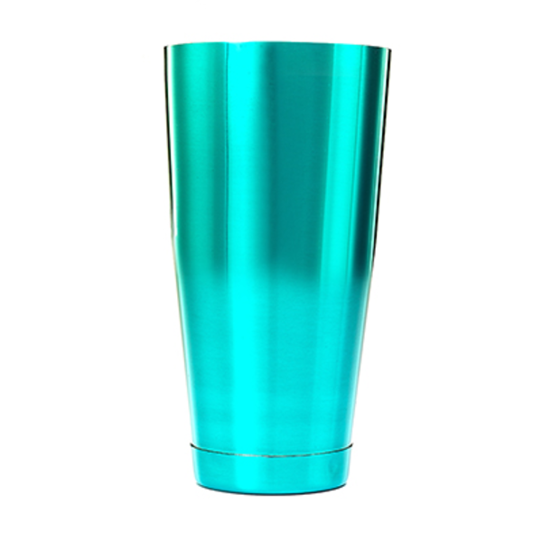 Mercer Mercer M37084TL Cocktail Shaker, 28 oz., Teal Exterior