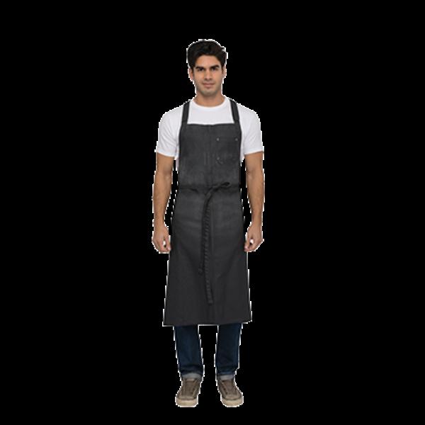 Chef Works Chef Works ACX02-GRY-0 Galveston Chef's Bid Apron, Gray
