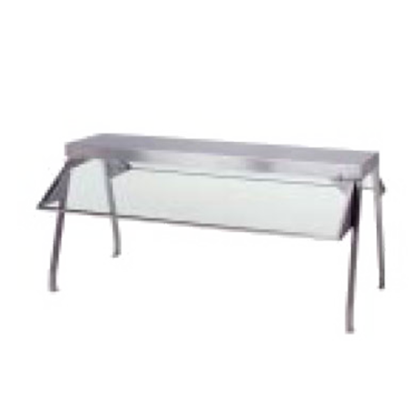 "Duke BUFFET SHELF 72 3/8"" W x 10 1/2"" D"