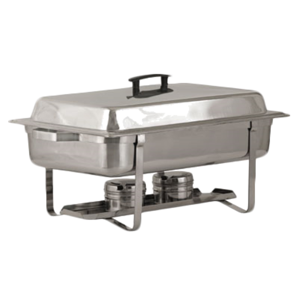 Royal Industries Royal Industries ROY COH 2 TWIN Chafing Dish 8 qt. Stainless Steel