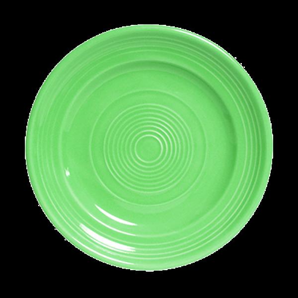 """Tuxton Tuxton CTA-090 Cilantro China Plate 9"""" - 24/Case"""