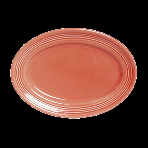 Tuxton Tuxton CNH-136 Cinnebar Oval China Platter, Ceramic- 6/Case