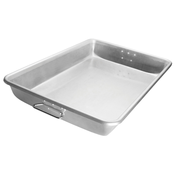 "Winco Winco ALRP-1826H Bake/Roast Pan 25-3/4"" x 17-3/4"" x 3-1/2"" Deep Rectangular"