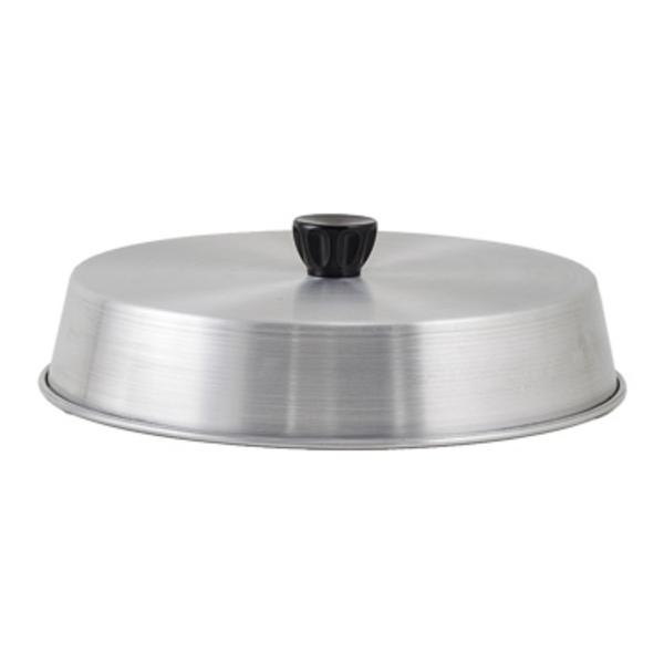 "Winco Winco ADBC-10 Grill Basting Cover 10"" dia. With Bakelite Handle Aluminum"