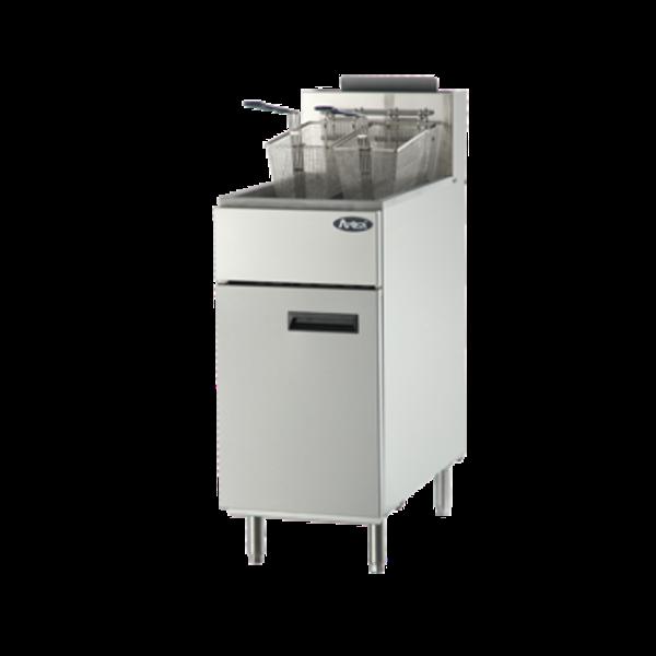 """Atosa Atosa ATFS-40 CookRite Fryer, gas, floor model, 15-3/5""""W x 30-1/10""""D x 44-2/5""""H, 40 lb"""