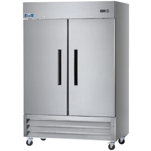 "Arctic Air Arctic Air AR49 Refrigerator Reach-In Two Section 49.0 cu. ft. Capacity 54""W x 32.75""D x 82.75""H"
