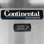 Continental Refrigeration Continental Refrigeration 2F Two Section Freezer Self-Contained Refrigeration