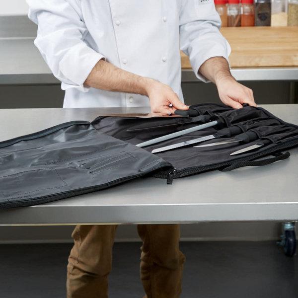 Victorinox Victorinox 46149  Piece Culinary Set Fibrox Pro Handles With Canvas Case
