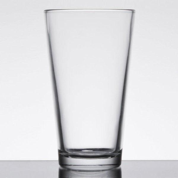 Anchor Hocking Anchor Hocking 7176FU 16 oz. Rim Tempered Mixing Glass / Pint Glass - 2 Dozen