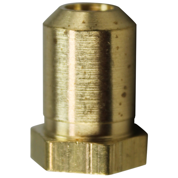 "AllPoints Allpoints 26-1113 Brass Hood Orifice #53 Liquid Propane 3/8""-27 Thread 1/2"""