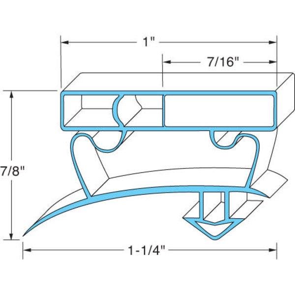 """True Manufacturing AllPoints 741356 Gasket Door 22-1/2 25-7/8"""""""