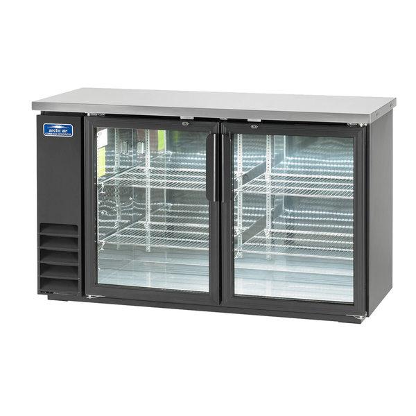 "Arctic Air Artic Air ABB60G Glass Door Back Bar Cabinet Refrigerator 61"""