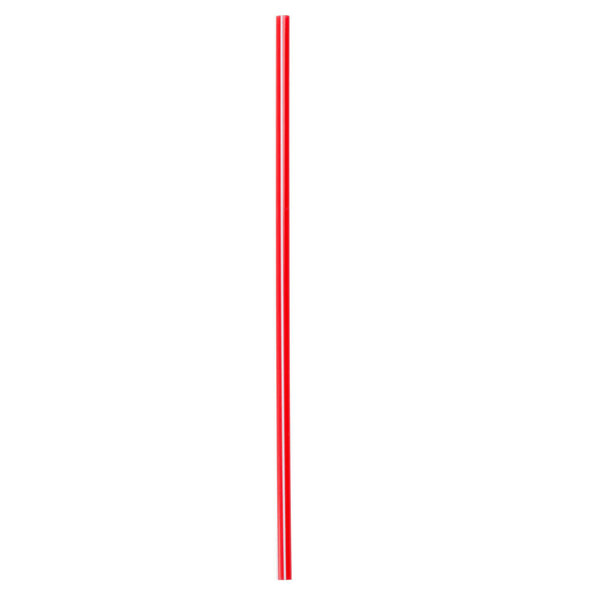 Choice 4855010 Red and White Unwrapped Coffee Stirrer-1000/case