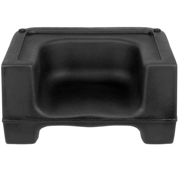 Carlisle Carlisle 7114-103 Black Plastic Booster Seat - Dual Seat