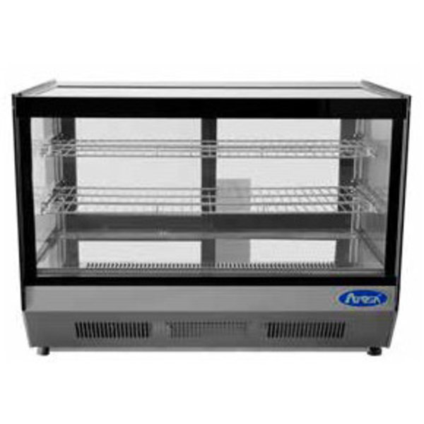 "Atosa Atosa CRDS-56 Refrigerated Display Case, Countertop, 2 Rear Sliding Doors, 35.4"" W"