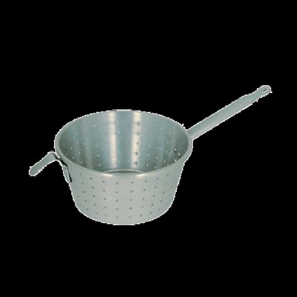 "Webstaurant Oneida Hospitality Aluminum Pasta Strainer Pan 10"""