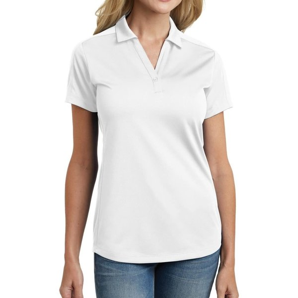 Chef Works Chef Works L569-WHT- P/A Ladies Jacquard Polo