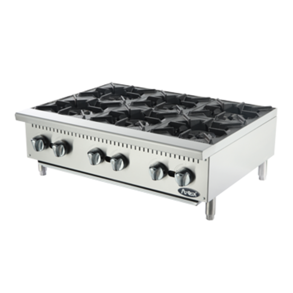 Atosa Atosa ACHP-6 Hot Plate, Countertop, 6 Burners