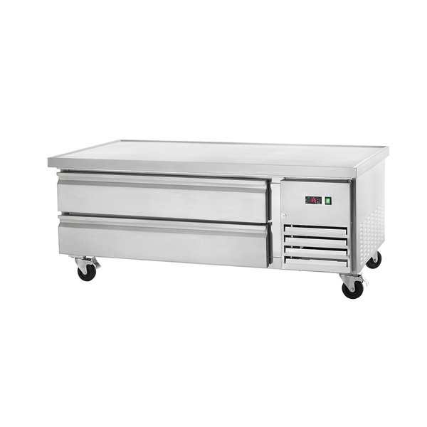 """Arctic Air Arctic Air ARCB60 62"""" Two Drawer Refrigerated Chef Base"""