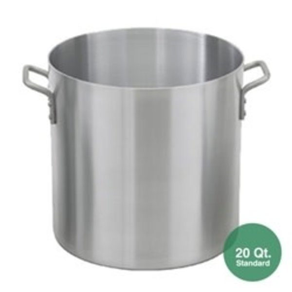Royal Industries Royal Industrial ROY RSPT 20 M Stock Pot, 20 qt., Riveted Handles