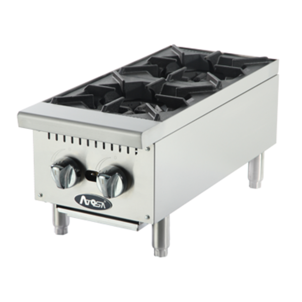 Atosa Atosa ACHP-2 Cookrite Hotplate, Countertop, Gas, 2 Burners