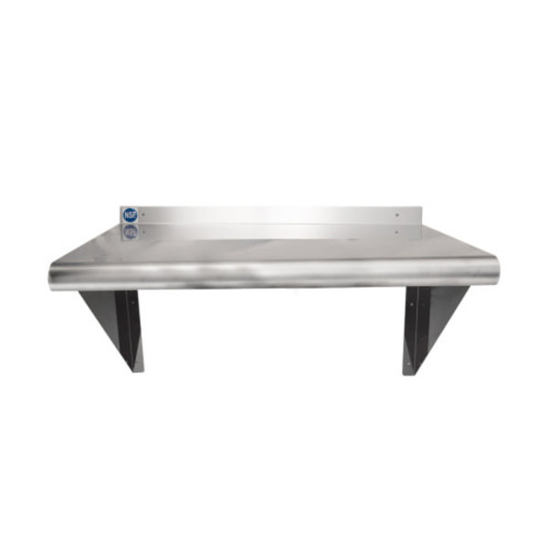 "Stortec Stortec WS-1824 Wall-Mounted Shelf, 24"" W x 18"" D"