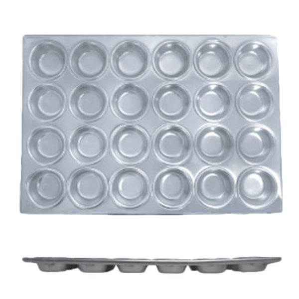 Thunder Group Thunder Group ALKMP024 Muffin Pan, 24 Cup,  3-1/2 oz