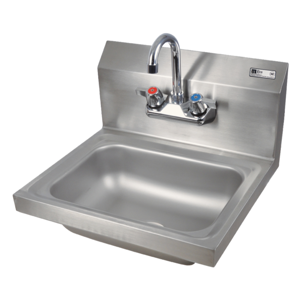 John Boos John Boos PBHS-W-1410-P-X Pro-Bowl Hand Sink, Wall Mount