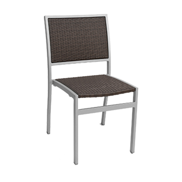 Florida Seating Florida Seating AL-5625-0 Side Chair, Stackable, Reinforced, Outdoor Use
