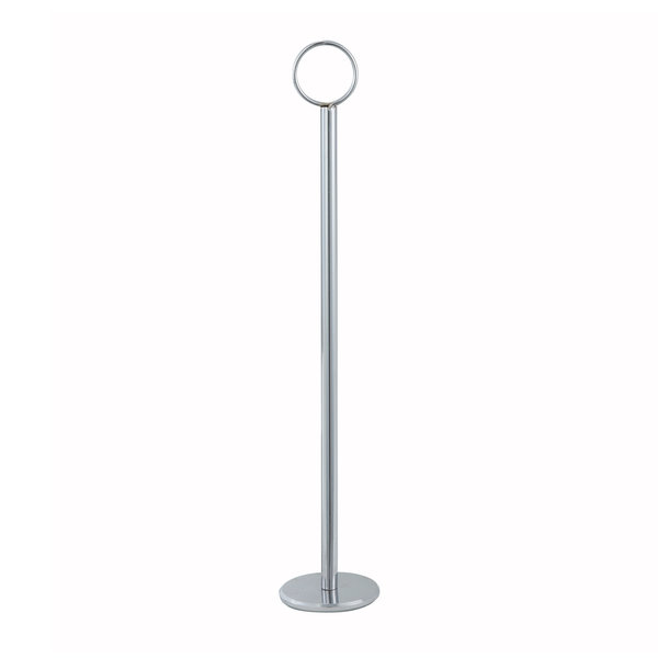 "Winco Winco TBH-8 8"" Table Number Holder, Chrome"