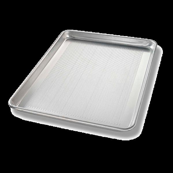 Chicago Metallic Chicago Metallic 40851  Sheet Pan, Half Size, Perforated Bottom, 18 Gauge