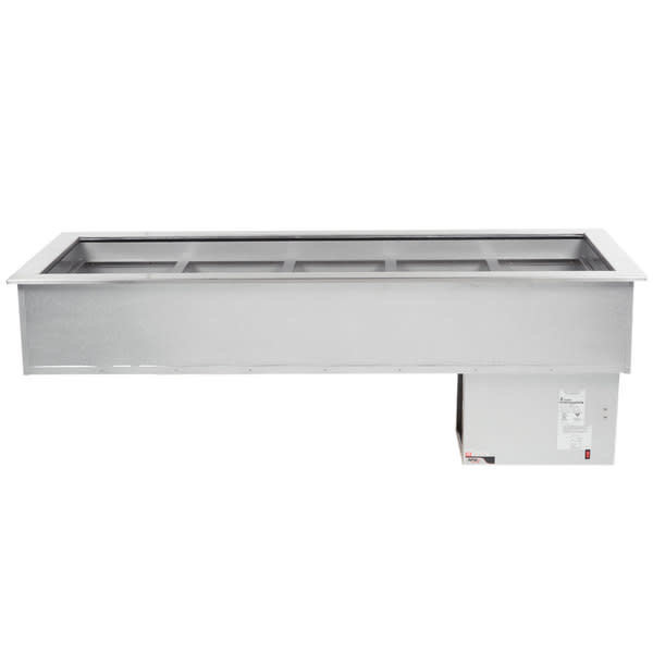 APW Wyott CW-5 Cold Food Well Unit, Drop In, 5 Pans