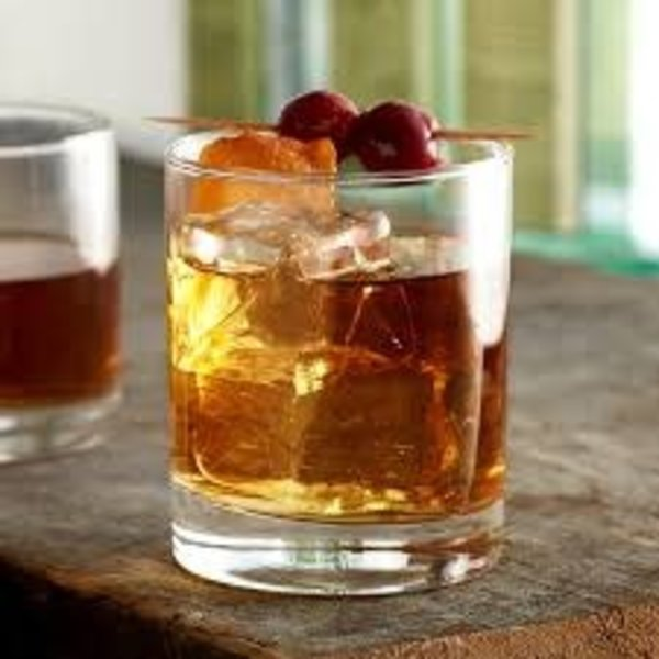 Acopa 5535611R Straight Up 12 oz. Rocks / Double Old Fashioned Glass - 12/Case