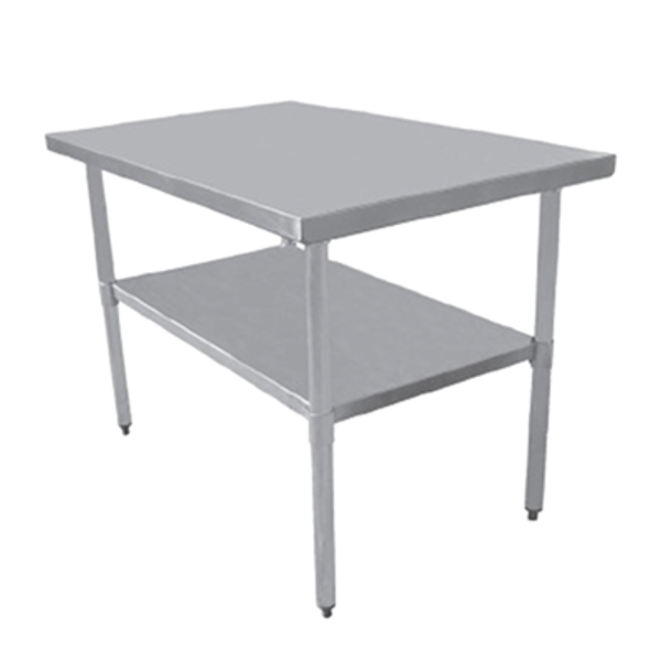"Serv-Ware Serv-Ware T2448CWP-4 Economy Series Work Table, 48"" W x 24"" D,"